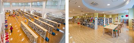 沖縄市立図書館移転改修工事