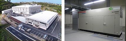 沖縄情報通信センター増設工事