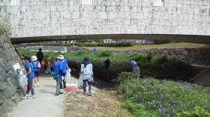 比謝川清掃に参加致しました!